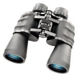 Zip-focus binocular with 10x magnification and 50mm objective lens:Rugged, weather-resistant housing coated with rubber armor.